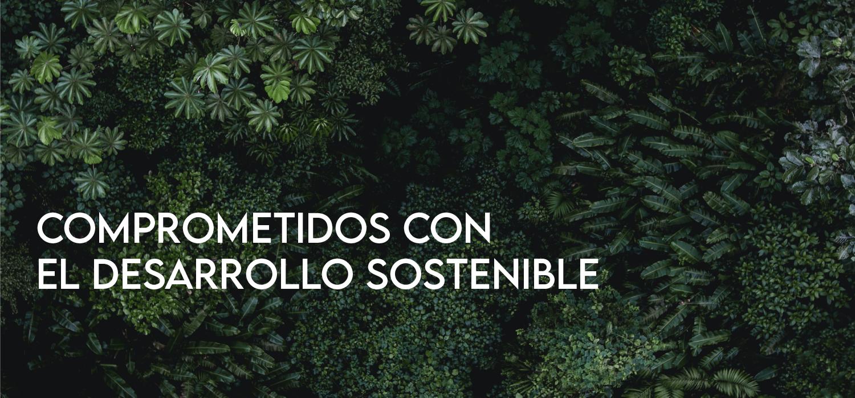 Comprometidos con el desarrollo sostenible.