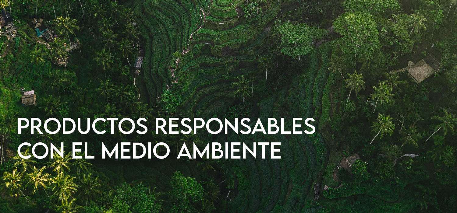 Productos responsables eco conscientes