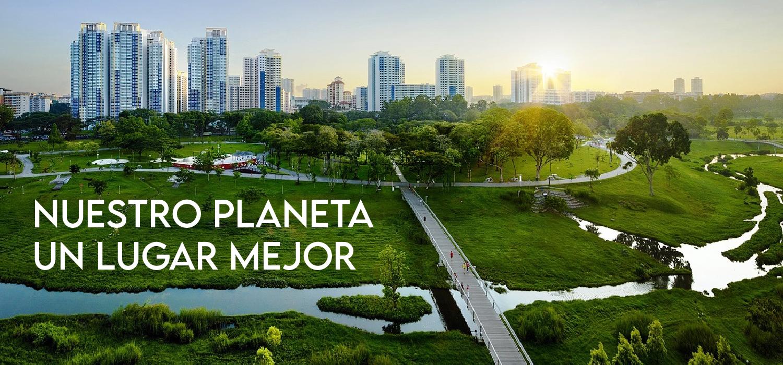 Nuestro planeta un lugar mejor